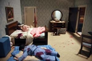 of dolls and murder diorama